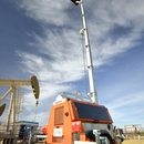 LLTT-H hybrid led light tower by verdegro suitable for mining, oil and gas industry