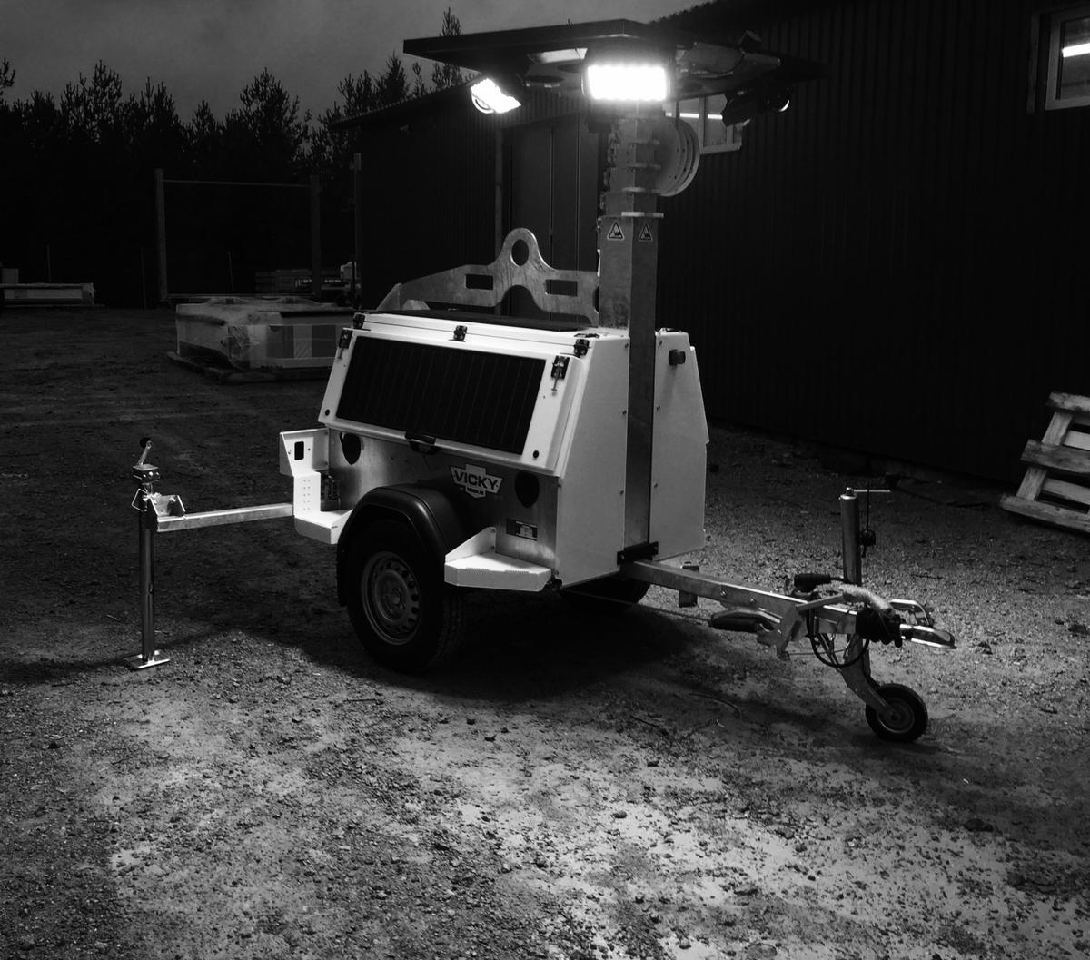 Hybrid Led Light Tower (LLTT-H)