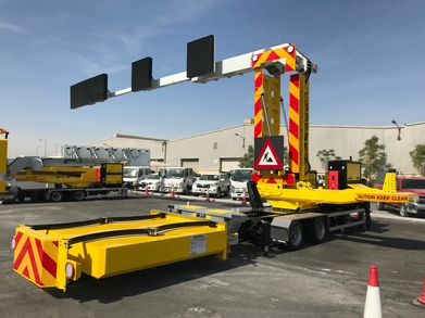 Custom made Mobile Lane Signaling system